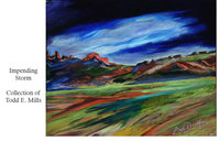 sedona - impending storm - collection Todd E. Mills
