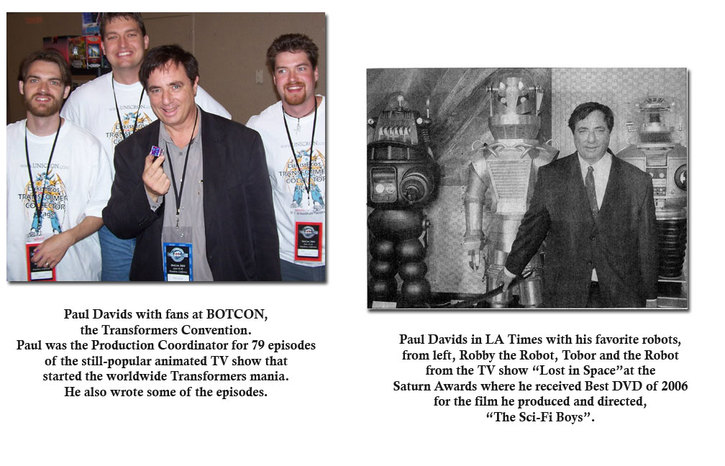 Transformers Convention and LA Times photo re Saturn Awards