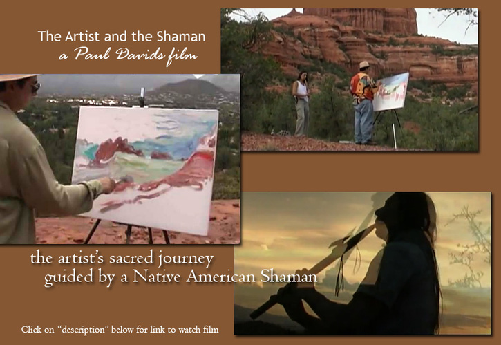 the artist and the shaman - a film