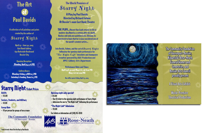 "world premiere of ""Starry Night"" stage play based on the film"